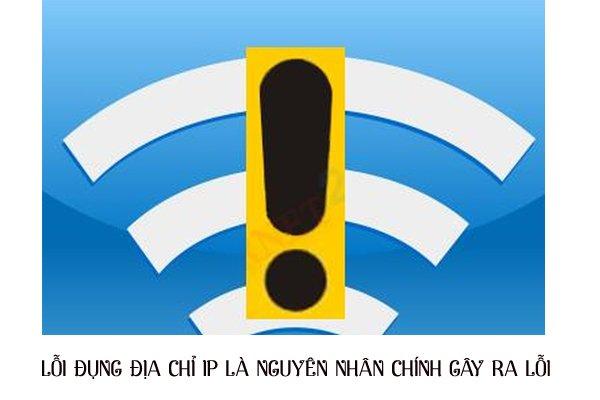 Có nhiều lý do gây ra lỗi wifi bị dấu chấm than